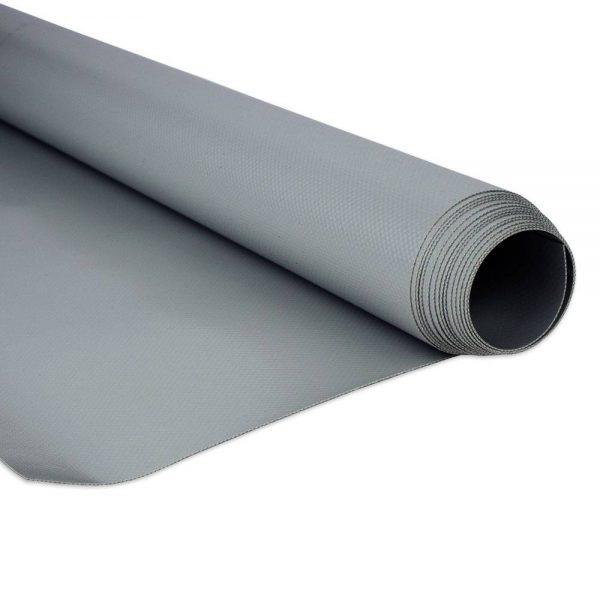2.5m Grey RAL7037 680gsm PVC Tarpaulin