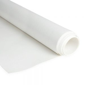 2.5m White RAL9010 680gsm PVC tarpaulin