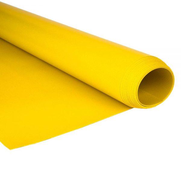 2.5m Yellow RAL 2004 680gsm PVC tarpaulin