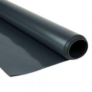 250cm Anthracite PVC tarpaulin 680gsm