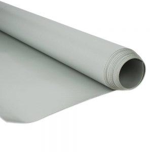 250cm Grey PVC tarpaulin 680gsm