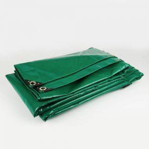 8x10 Green tarpaulin sheet 650gsm PVC cover tarpaulin with Aluminium eyelets