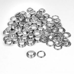 Aluminium eyelets / sailing stocking 14mm 6B stainless steel 50 pcs