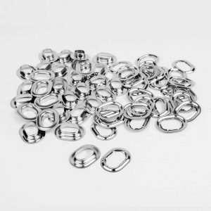 Aluminium eyelets / stocking oval 22.5 x 13.5