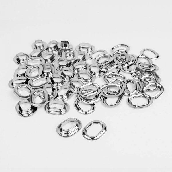 Aluminium eyelets / stocking oval 22.5 x 13.5
