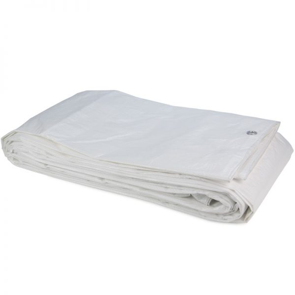 Tarpaulin PE White sheet 3x4 Construction Tarpaulin 100gr