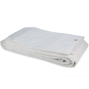 Tarpaulin PE White sheet 8x10 Construction Tarpaulin 100gsm