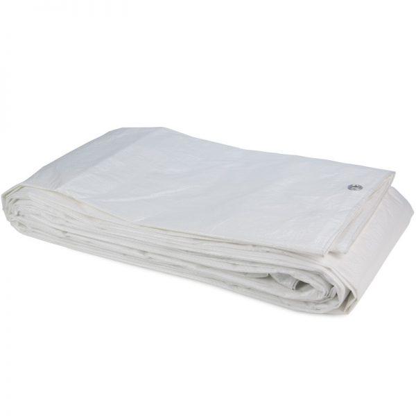 Tarpaulin PE White sheet 8x10 Construction Tarpaulin 100gsm