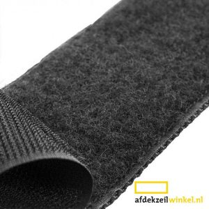 Velcro 20mm Self Adhesive Crochet Black Acrylic